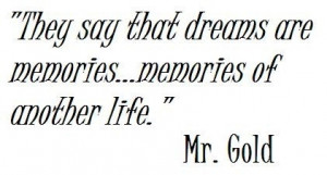 Quote - Mr. Gold- Once Upon A Time