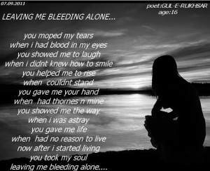 alone poems | Alone Poetry