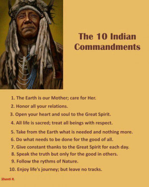 10 Indian Commandments
