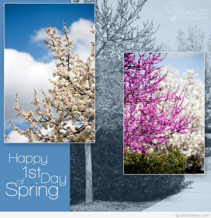 First day of Spring march 21 wallpaper