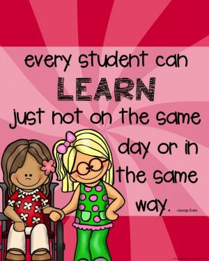 Special Education Teacher Quotes Inspirational Teacher Quotes ...