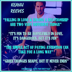 INFJs & THEIR QUOTES: KEANU REEVES FOR MORE CELEBRITY QUOTES & CONTENT ...