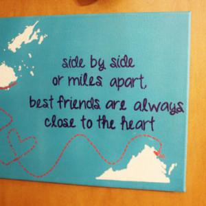 True friends are close no matter how far away