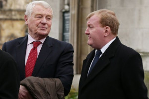 Paddy Ashdown (left) and Charles Kennedy - who has died aged 55 ...