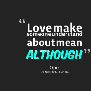 Quotes About Love and Understanding