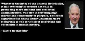 David Rockefeller, China, Free Trade, the WTO and the New World Order