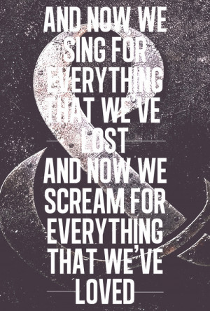 ... sign austin carlile everything of mice and men of mice & men screamo