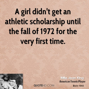 Girl Athletes Quotes
