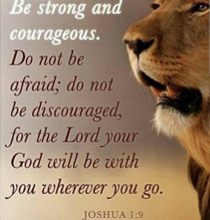 Strength #courage #God quotes