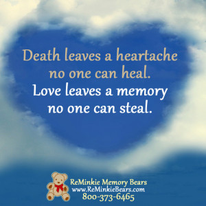 ... One: Memorial And Remembrance Quotes Featuring Our Memory Bears,Quotes