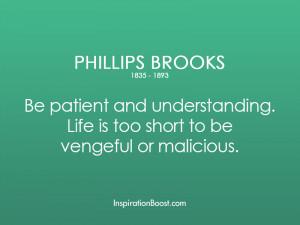 Phillips Brooks Understanding Life Quotes
