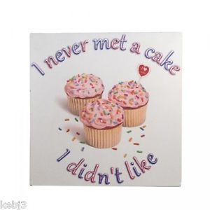 Cake-FRIDGE-MAGNET-Retro-Style-other-choice-Humorous-Quotes-NEW