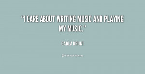Quotes About Writing Music