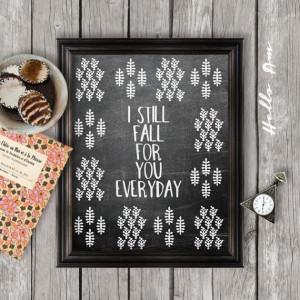 Love quote print, wedding print, wall decor, chalkboard Art, wall art ...
