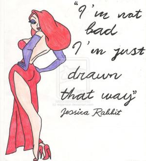 Jessica Rabbit Quotes Cover...