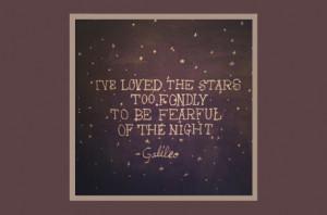 Galileo stars quote