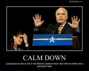 calm down »