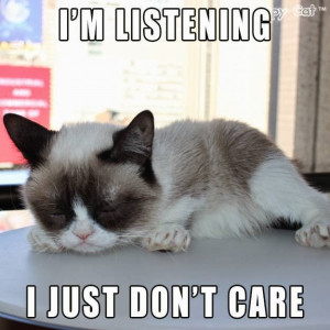 Top Ten Tuesday ~ Grumpy Cat ~ No. 50