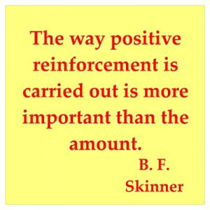 CafePress > Wall Art > Posters > b f skinner quotes Poster