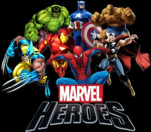 Marvel Heroes Logo Png Marvel