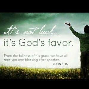 God's Favor..:::