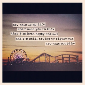 that quote, santa monica pier, loves!