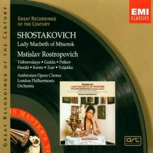 Shostakovich's Lady Macbeth of Mtsensk , with Mstislav Rostropovich ...