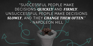 make-decisions-quickly-napoleon-hill