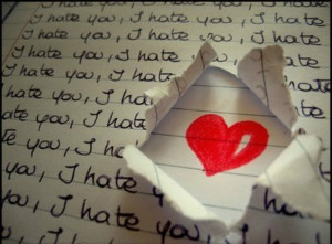 hate you