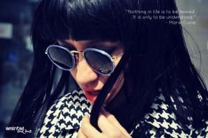 ViVintage jacket / Giant Vintage sunglasses / Wonderland Wigs Wig