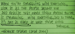 dear john quote by rosemarie