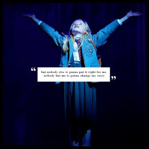 MUSICAL THEATRE CHALLENGE| 5 QUOTES└ from Matilda [1/5]