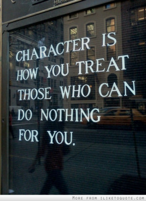 Quotes About Integrity And Character Great That Make