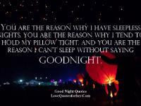 Good Night Quotes and Sayings , Text messages for Girlfriend, Wife ...