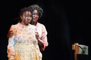 "... as Celie and Crystin Gilmore as Shug Avery in ""The Color Purple"