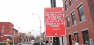 Jay Shells affiche des lyrics de rap dans la rue – Street Art