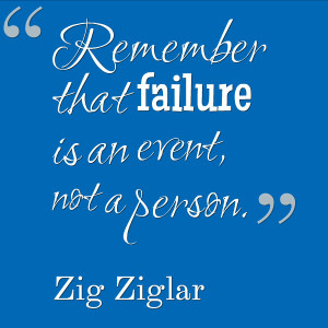 Remember That Failure