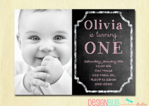 ... Photo Invitation - Printable 1, 2, 3, 4, 5 year old Birthday Invite