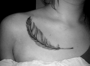 25 Mind Blowing Feather Tattoo Designs