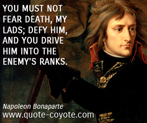 ... quotes fear quotes enemy quotes battle quotes defiance quotes ranks