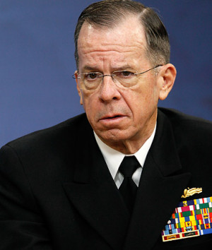 , but it's not going to work. That's just a fact.ADMIRAL MIKE MULLEN ...
