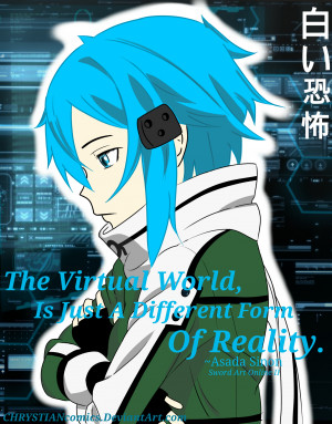 Anime Quotes: Sinon, SAO2 by CHRYSTIANcomics by CHRYSTIANcomics