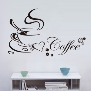 Kitchen-Wall-Quotes-Coffee-Cup-Wall-Art-Vinyl-65-40CM-Removable-Mural ...