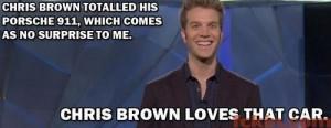 Anthony Jeselnik on Chris Brown