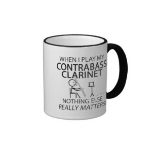 Contrabass Clarinet Nothing Else Matters Mug