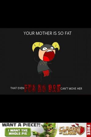 Yo Mama jokes.... Skyrim style!! :)