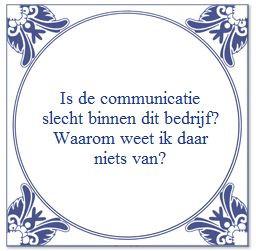 Communiceren moet je leren