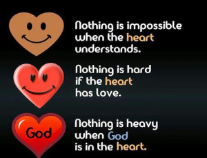 ... wrong, right, lose, impossible, god, nothing, heart, hard, understand