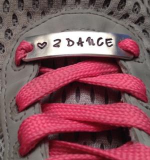 , Custom Hand Stamped Metal Dance, Zumba Inspirational Shoe Quotes ...