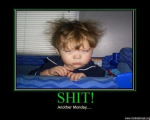 "20 ""I Hate Monday"" Funny Pictures"